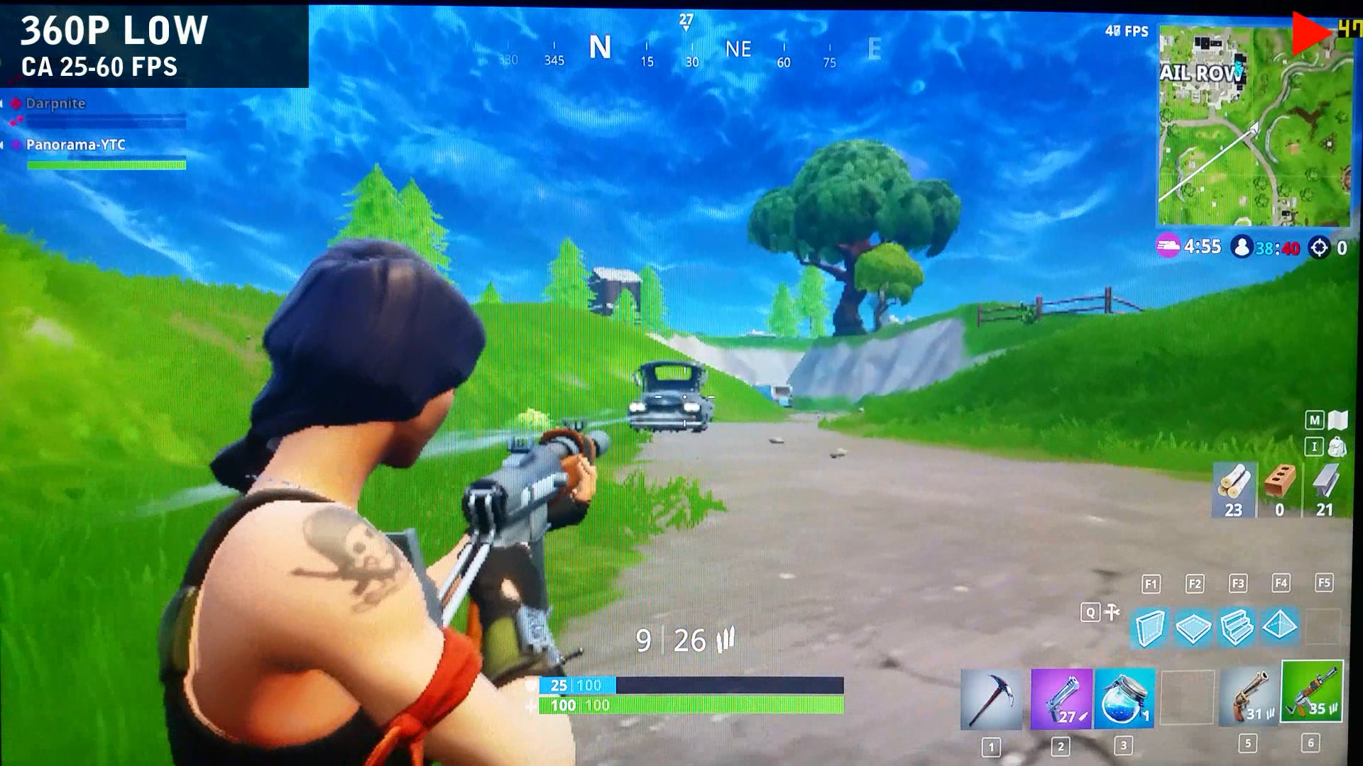 Fortnite On Intel Hd 4000 With Min Specs Thinkpad T430s Panorama