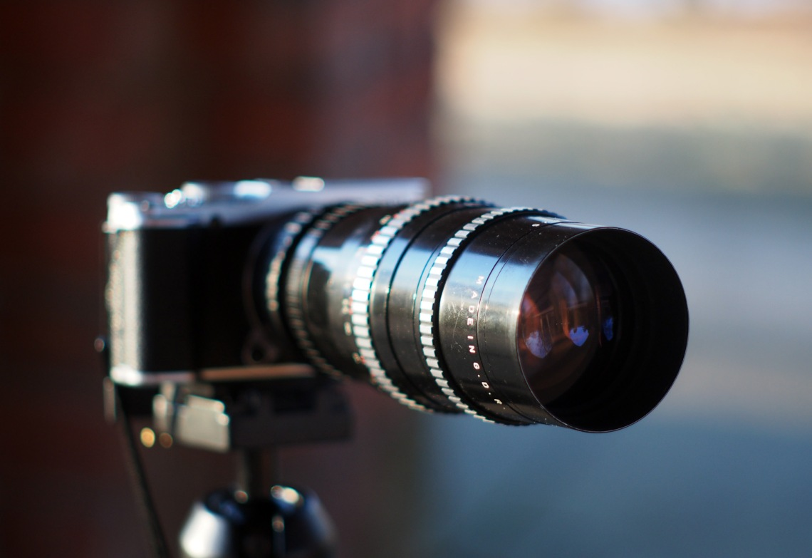 Pentacon 4 200 Lens Review Nice Telephoto For 40