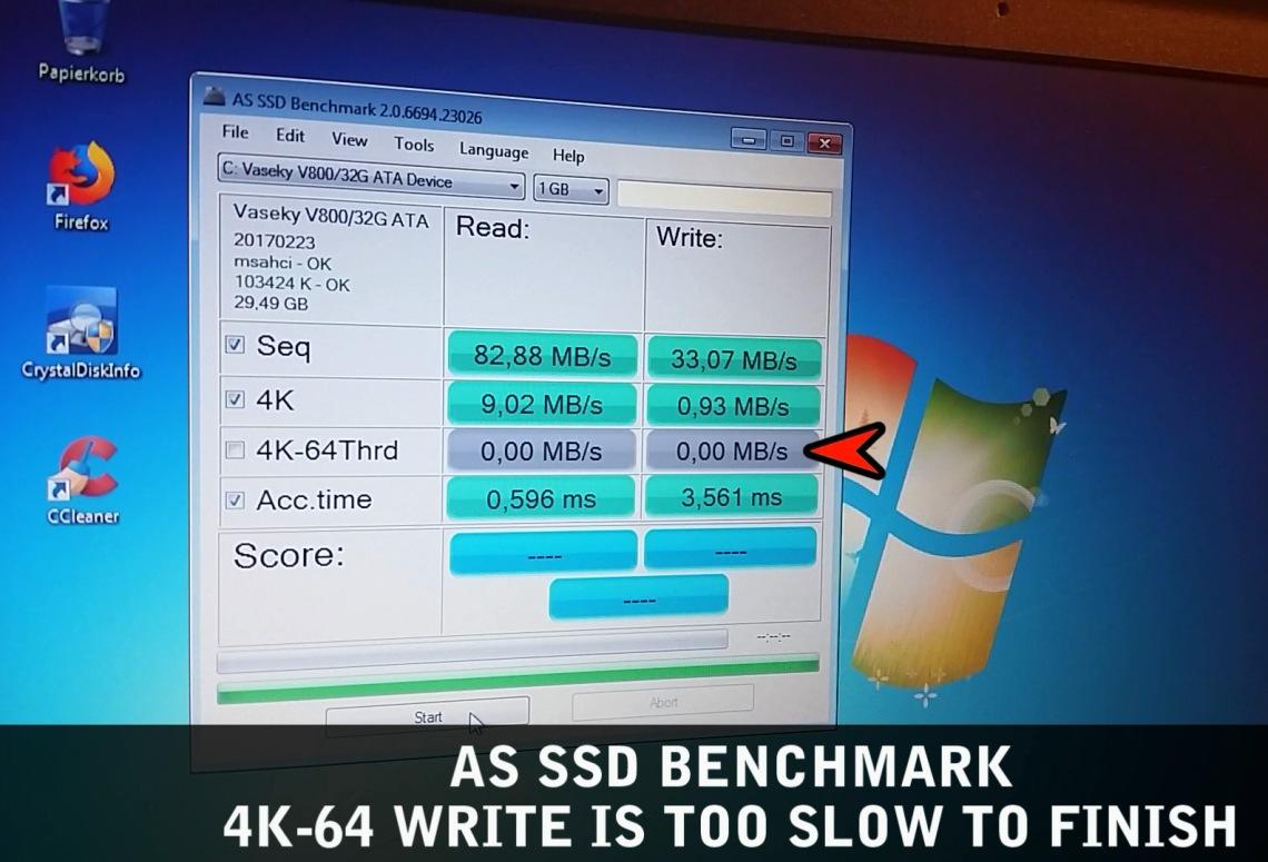 Vaseky V800 SSD 32GB 4