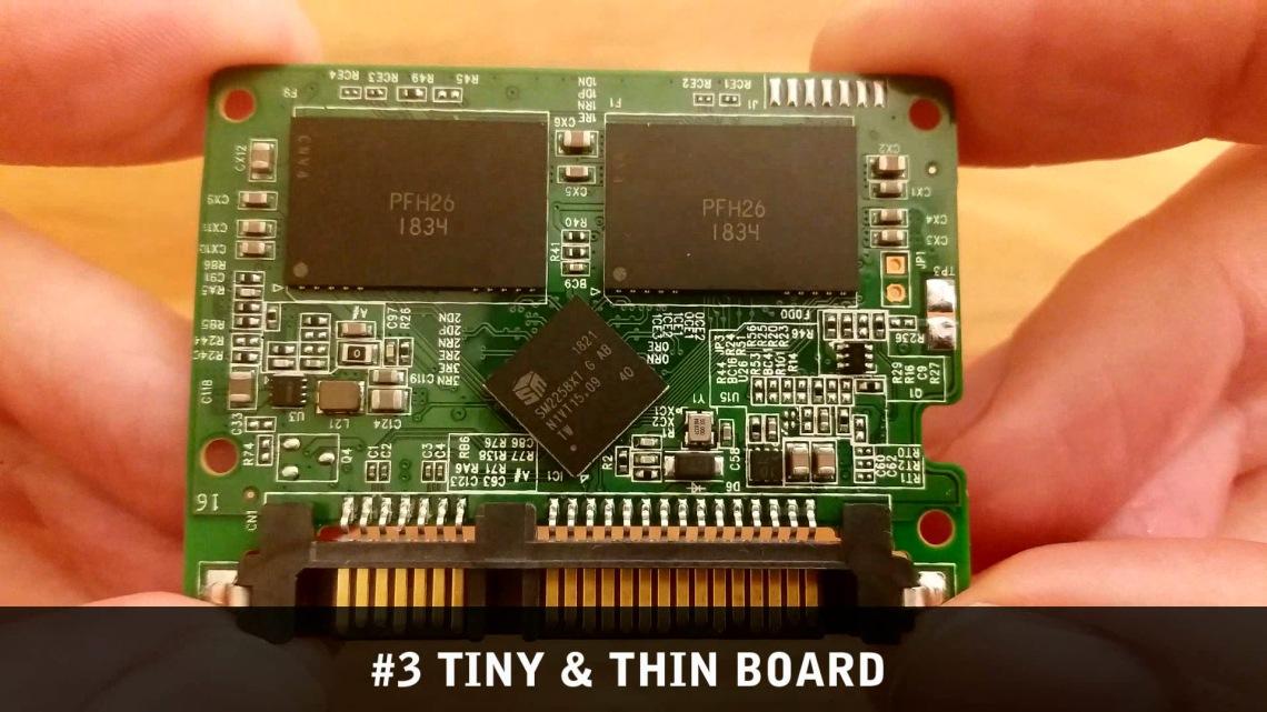 Crucial SSD BX500 board